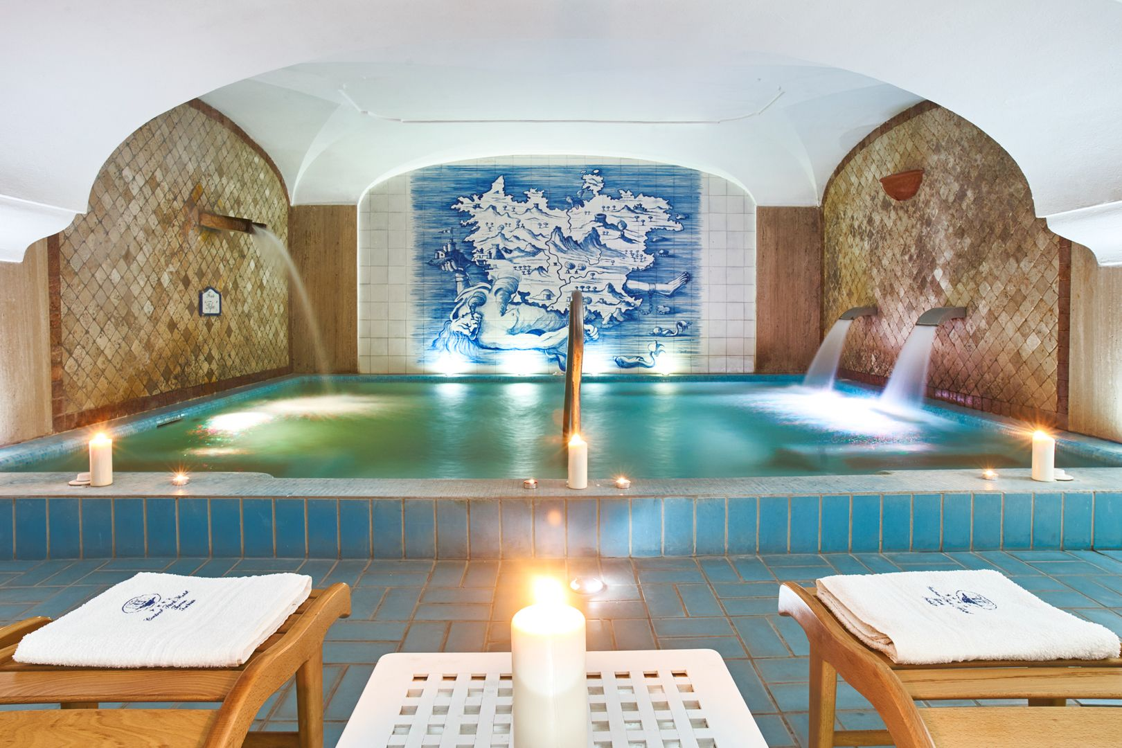 Hotel Terme Central Park - The Swimming Pools